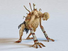 Zombie Mummy 3d preview