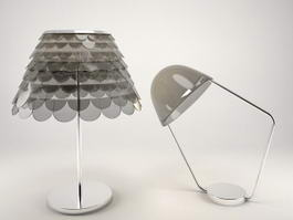 Modern Table Lamps 3d preview