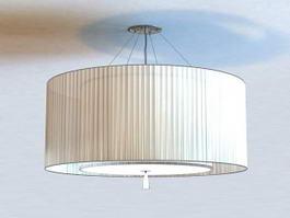 Semi Flush Ceiling Light 3d preview