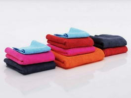 Bath Towel Sets 3d preview
