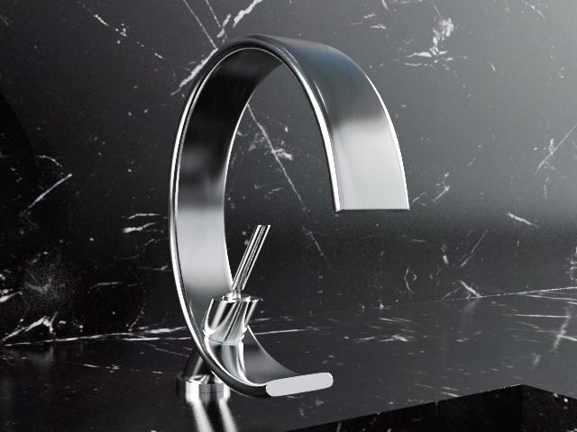 Gessi Bathroom Faucet 3d rendering