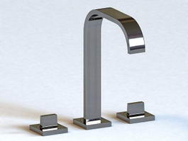 Zucchetti Kitchen Faucet 3d preview