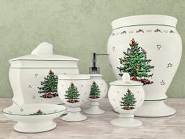 Christmas Tree Bathroom Accessories Sets 3d preview