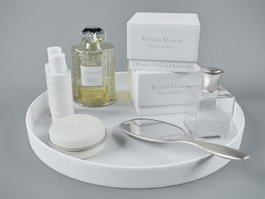 Bath and Body Products 3d model preview