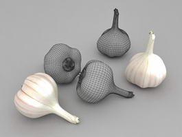 Garlic Cloves 3d preview