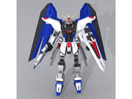 Gundam Seed Freedom 3d model preview