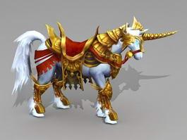 War Unicorn 3d preview