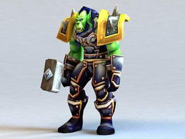 Thrall Character 3d preview