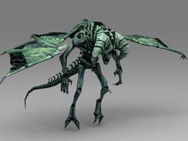 Green Gargoyle 3d preview