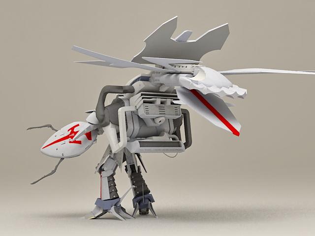 BattleMech Concept 3d rendering