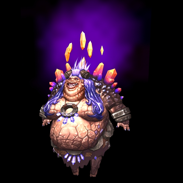 World of Warcraft Therazane 3d rendering