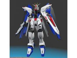 Mobile Suit Gundam 3d model preview