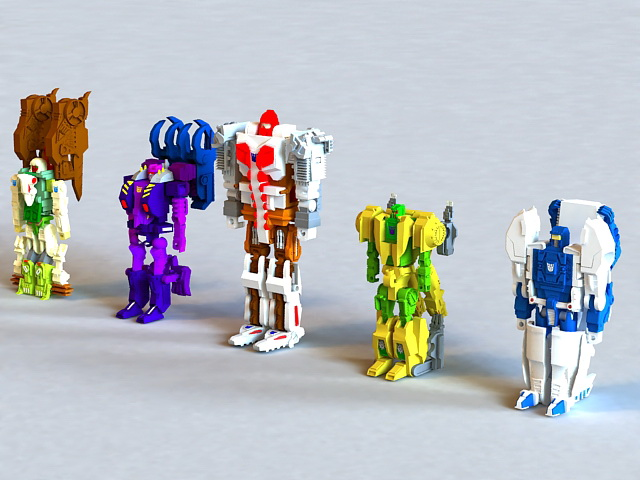 Transformers Animated 3d rendering