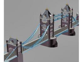 Tower Bridge London 3d preview