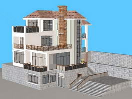 Country Villa 3d preview