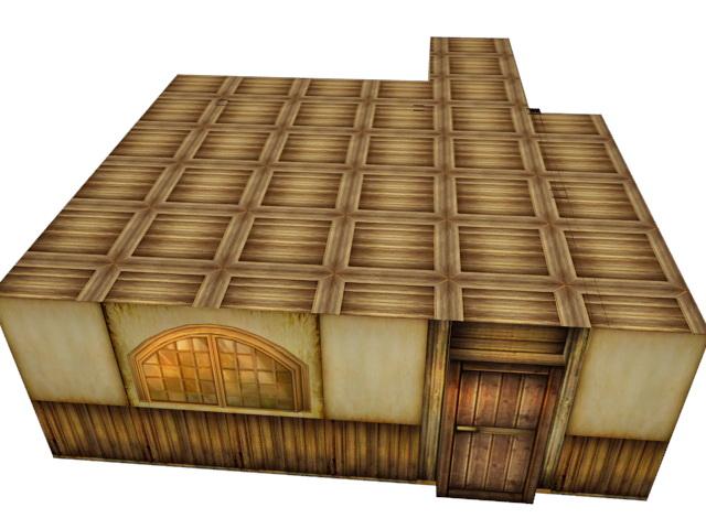 Medieval Restaurant Interior 3d rendering