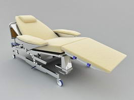 Medical Hospital Bed 3d preview