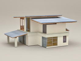 Holiday House 3d model preview