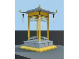 Small Pagoda 3d preview