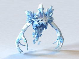 Ice Ghost 3d preview