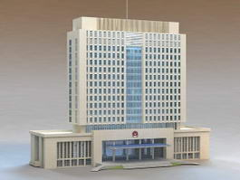 Chinese Police Headquarter 3d preview