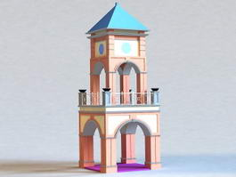 Small Bell Tower 3d preview