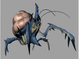 Giant Hermit Crab 3d model preview