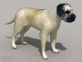 English Mastiff 3d preview