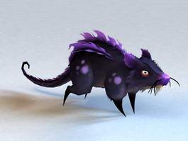 Evil Rat 3d model preview
