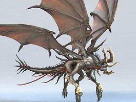 Mutant Drake Dragon 3d model preview