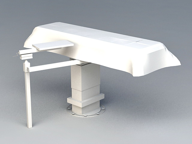 Medical Exam Table 3d rendering