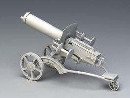 Anti-Air Gun 3d model preview