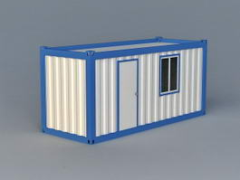 Shipping Container Room 3d preview