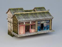 Ancient Chinese Inn Hotel 3d preview