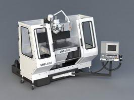 CNC Milling Machine 3d preview