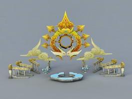 Fantasy Altar 3d preview