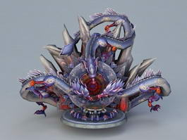 Dragon Altar 3d preview