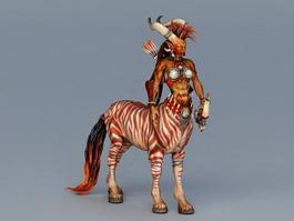 Pathfinder Female Centaur 3d preview