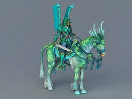 Green Knight 3d preview