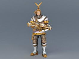 Medieval Archer Armor 3d preview