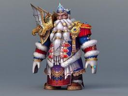 Dwarf King 3d preview