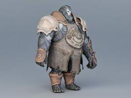 Steampunk Warrior 3d preview