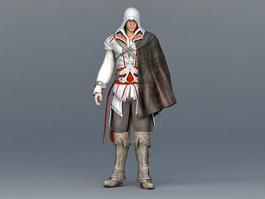 Assassins Creed Man 3d preview