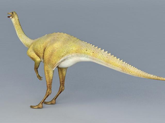 Herbivore Gallium Dinosaur 3d rendering