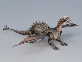 Epic Dragon 3d model preview
