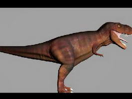 Meat-Eating Dinosaur 3d preview