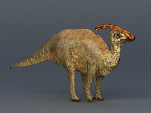 Charonosaurus Dinosaur 3d rendering