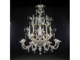 Antique Chandeliers 3d preview