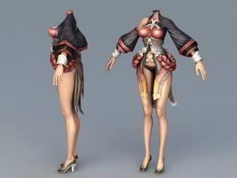 Perfect Female Body 3d preview