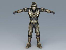 Future Soldier Concept 3d model preview